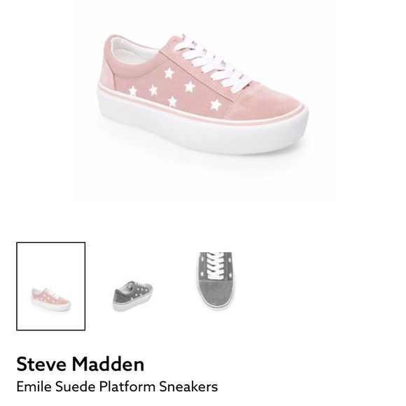 Steve Madden Emile Suede Platform